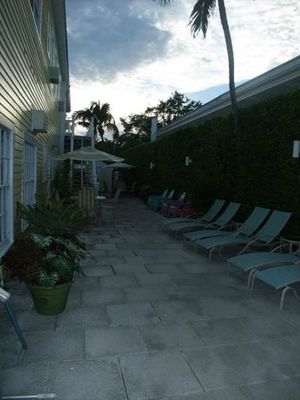Avalon Bed and Breakfast: Terrace