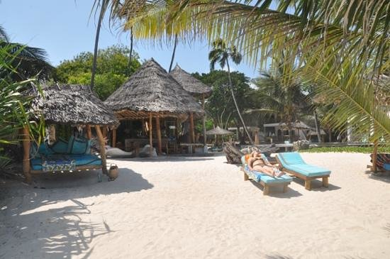 Waterlovers Beach Resort: different places to relax