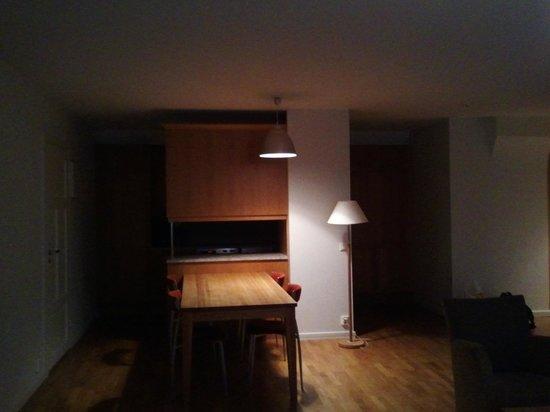 Hellsten Helsinki Senate: Large Apartment Room