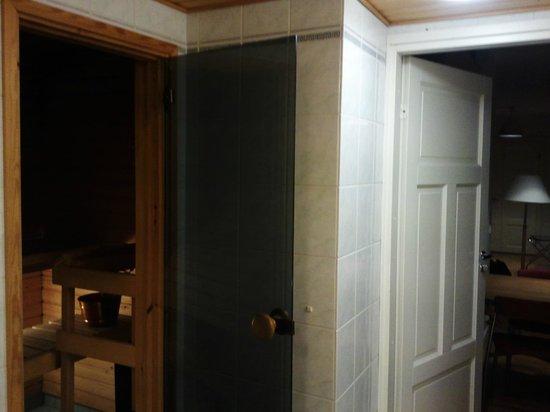 Hellsten Helsinki Senate: Bathroom WIth Sauna