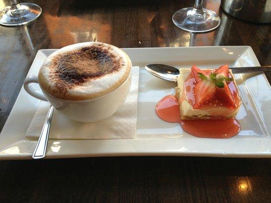 Prezzo - Salisbury: Cappuccino and Cheesecake