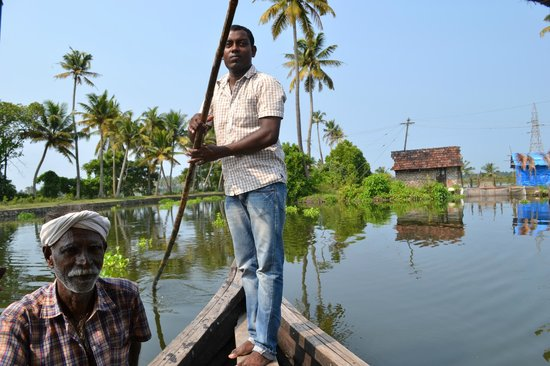 Breeze Backwater Homes: thats Sreejit (the owner of Brreze)..