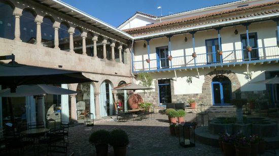 Palacio del Inka, a Luxury Collection Hotel: Inner courtyard- also view from breakfast area