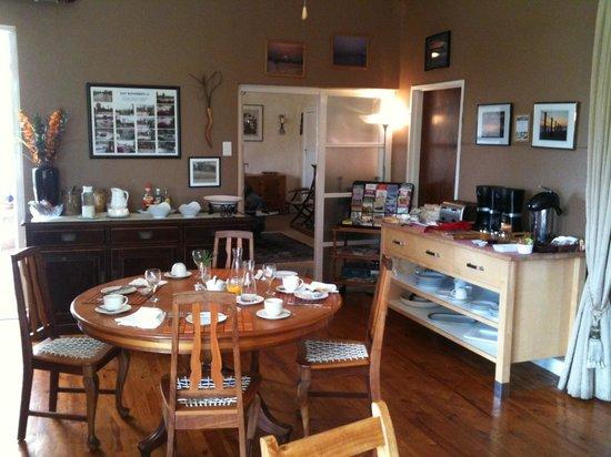 Gumtree Guest House: Frühstücksraum