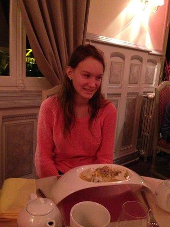 Le Lion d'Or : Первая подача - салат с улитками