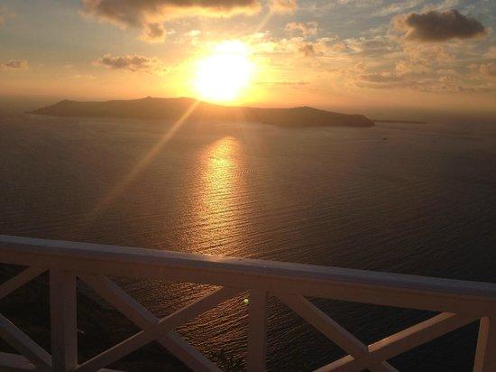 Regina Mare Hotel: Beautiful Sunset