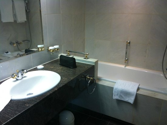 Hotel Palace Berlin : functional bathroom