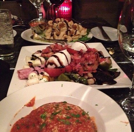 Rice Ball, Antipasto Salad, and Calamari! - Picture of Kitchen ...