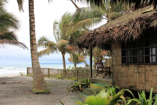 Cabanas Las Pigualas: Cabana on the beach