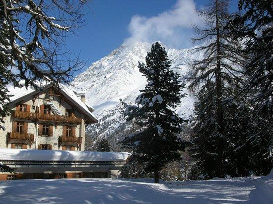 Grand Hotel Kurhaus : De l'hôtel aux pistes de ski