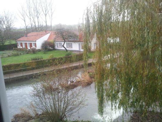 L'Auberge du Moulin d'Audenfort: Vue de la chambre