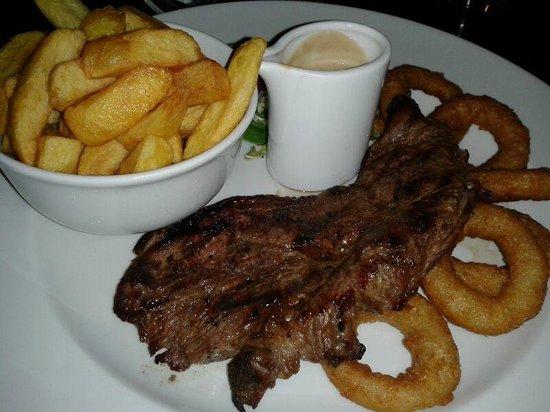 Jurys Inn London Croydon: Sirlion Steak