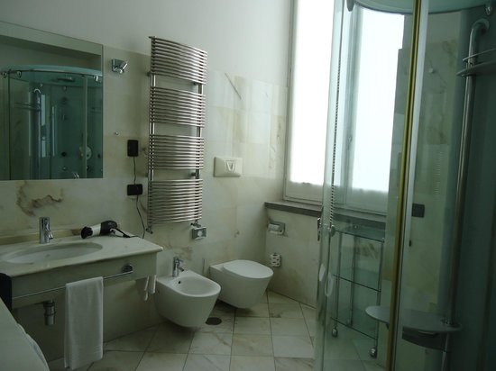Miglio D'Oro Park Hotel: salle de bains