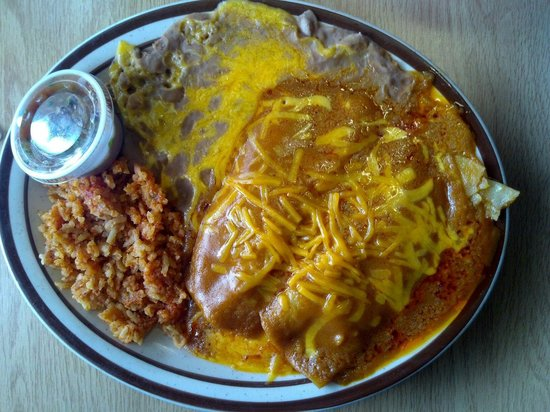 Grand Canyon Coffee and Cafe : Enchiladas