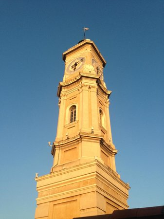 Hotel Villa La Tour: Clock tower daytime