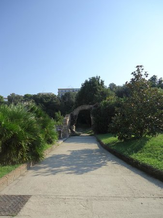 Miglio d'Oro Park Hotel: jardin