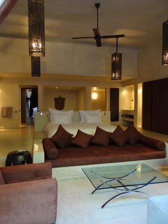 Hôtel Dar Sabra Marrakech : La chambre (suite sup)