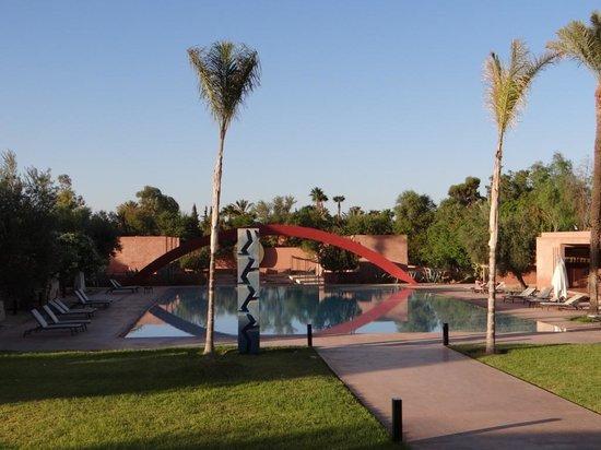 Hôtel Dar Sabra Marrakech : La piscine