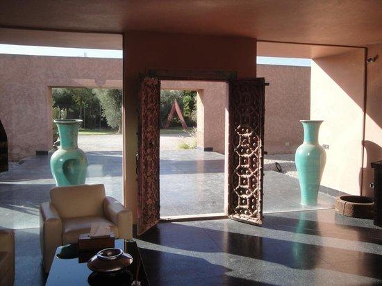 Hôtel Dar Sabra Marrakech : L'entrée