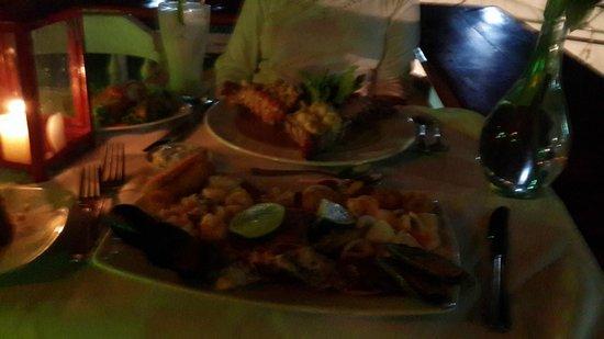 Restaurante La Regatta : Cena