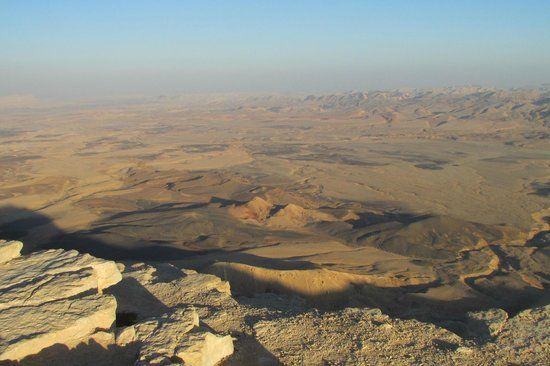 Ramon Crater : as far as the eye can see