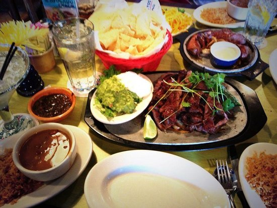 Pappasito's Cantina Rstrnts: Beef Fajitas. My all time favorite.