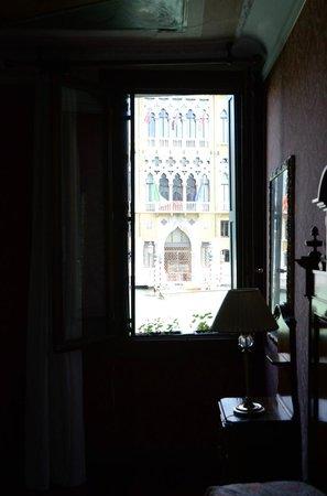Hotel Galleria : Room #10 window