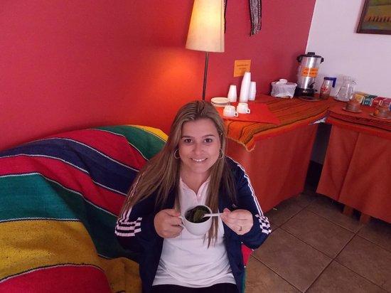 Amerinka Boutique Hotel: Sala de chá