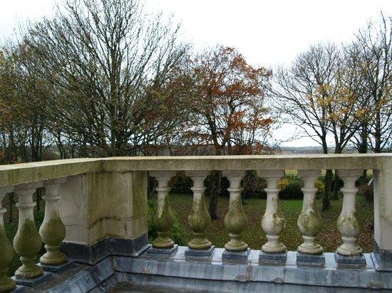 Chateau de la Marine: view from balcony