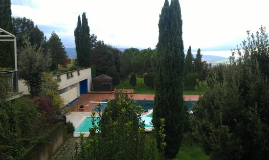 Hotel Palazzuolo: Panorama dal balcone della camera