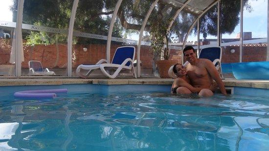 Salto Grande Hotel: piscina térmica