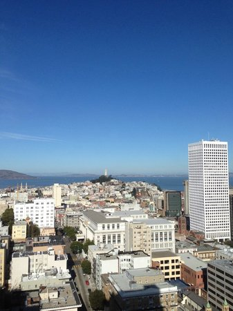 Grand Hyatt San Francisco: View from the room