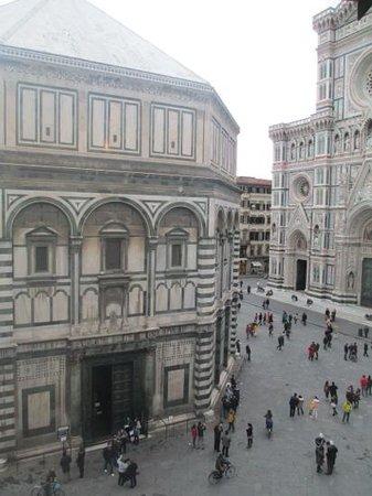 View from our room picture of soggiorno battistero for B b soggiorno madrid firenze