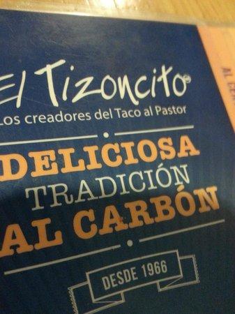 El Tizoncito: Recomendação da casa.