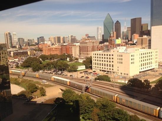 Hyatt Regency Dallas: view from my room