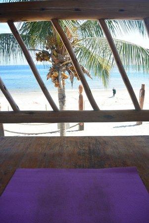 Mancora Yoga: View from my mat = heaven
