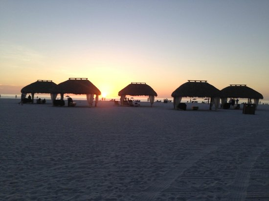 JW Marriott Marco Island Beach Resort: sunset