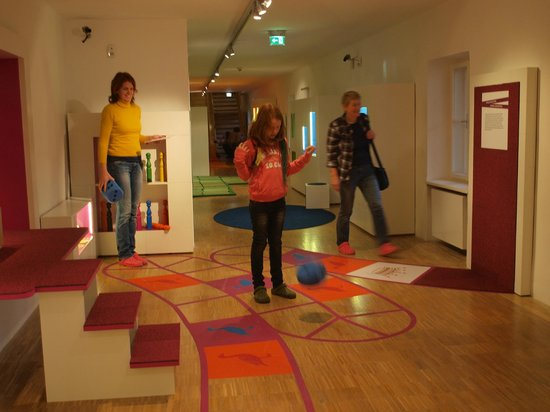 Spielzeugmuseum (Toy Museum): Happy family in the Toy Museum