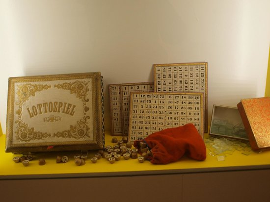 Spielzeugmuseum (Toy Museum): Old time toy displayed