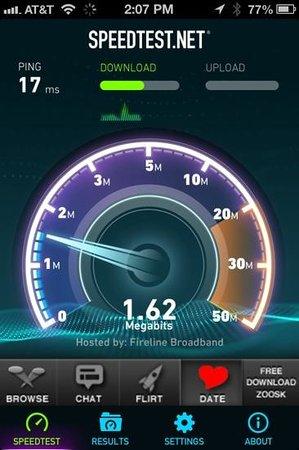 Hampton Inn Norco-Corona-Eastvale : Wifi Speed is Poor