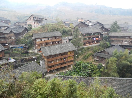 Ping'an Village : Ping'an, seen from above
