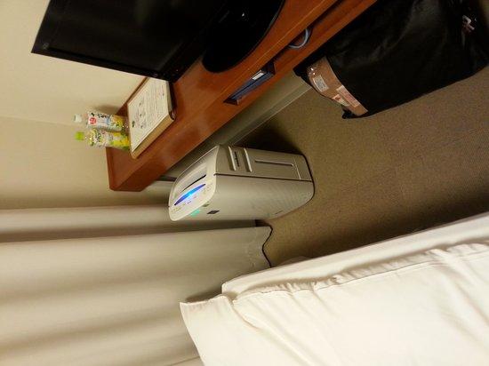 Dormy Inn Kanazawa : 空気清浄機完備