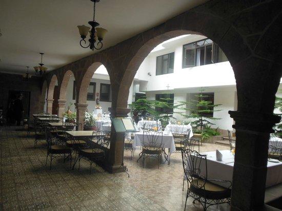 Terra Andina Hotel : Área de refeições