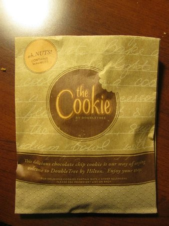 DoubleTree Suites by Hilton Hotel Lexington : free amazing cookies!