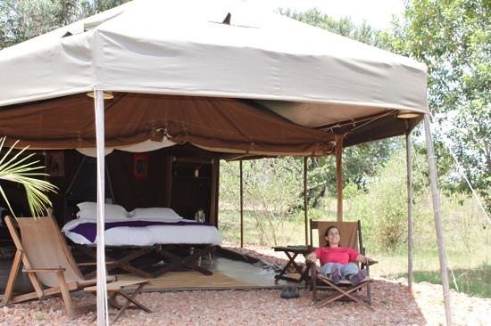 Enkerende Tented Camp : tranquilidad, muy a gusto...