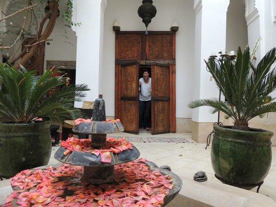 Riad Dar Oulhoum : entré suite rez-de-chaussée