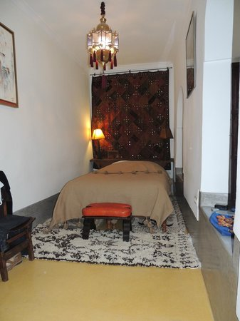 Riad Dar Oulhoum : chambre au 1er