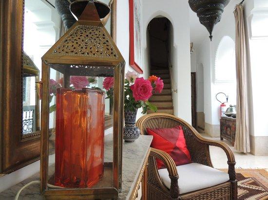Riad Dar Oulhoum : decoration raffinée et soucis du detail