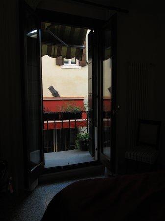 Al Teatro Bed & Breakfast: our little balcony