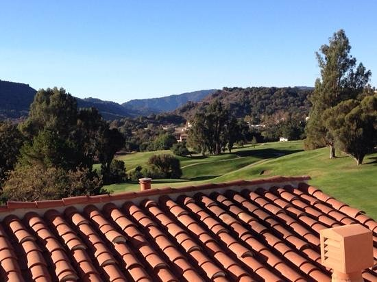 Ojai Valley Inn : view from room 335